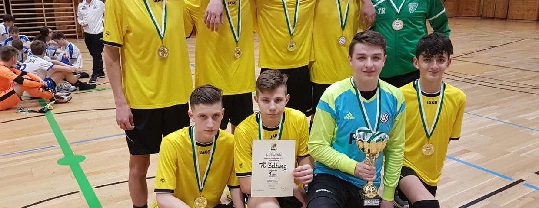 U-16: Steirischer Hallenmeister 2019!