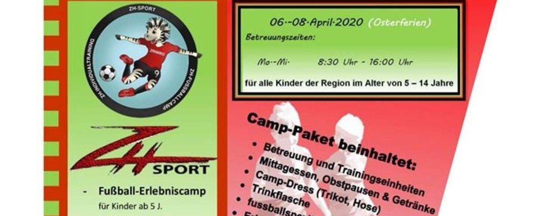 Kinder - Fußballcamp verschoben!