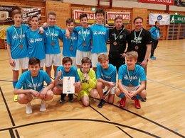 U-15 glänzte im Landesfinale ...